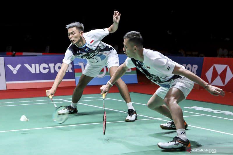 Fajar/Rian rebut tiket ke babak dua Indonesia Masters