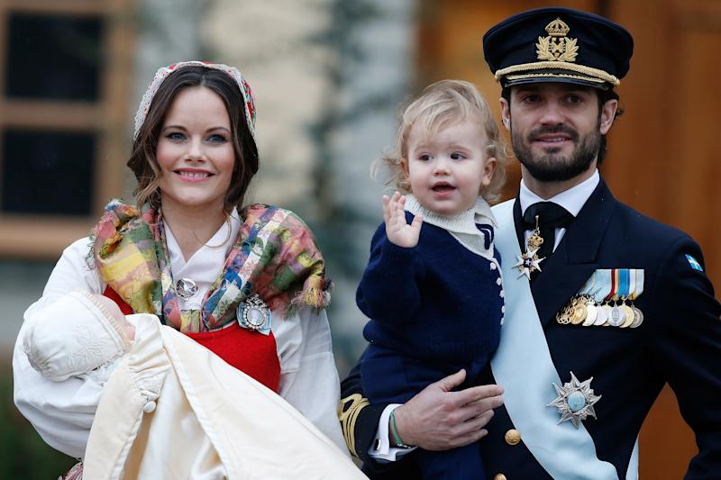 Prince Carl Phillip and Princess Sofia's young sons will now not receive public funds or carry out official duties. Photo: Getty