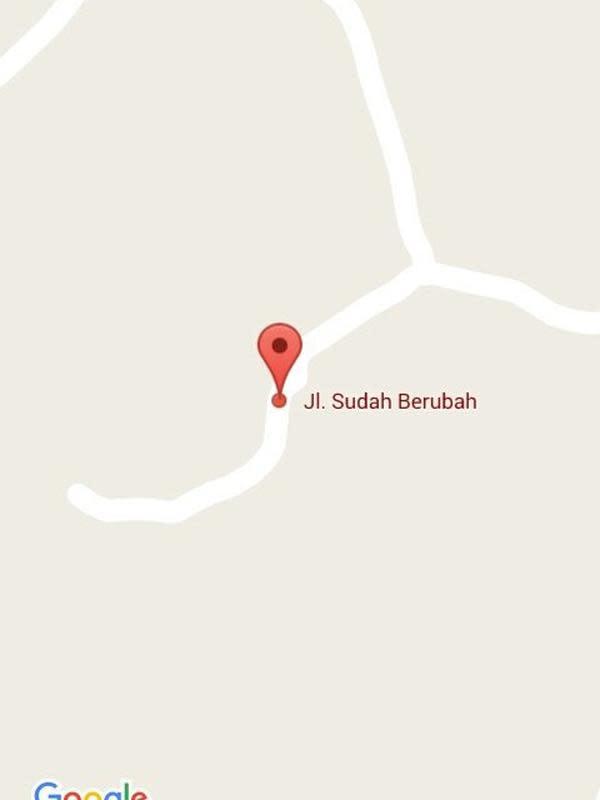 Nama jalan dan gang yang bikin tepuk jidat, kocak banget! (Sumber: Twitter/@RasyidMulia)