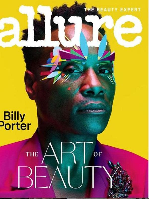 Billy Porter menjadi pria pertama yang tampil sebagai cover majalah Allure. foto: @benhassett. (dok.Instagram @thebillyporter/https://www.instagram.com/p/B7GiKnVllXd/Henry)