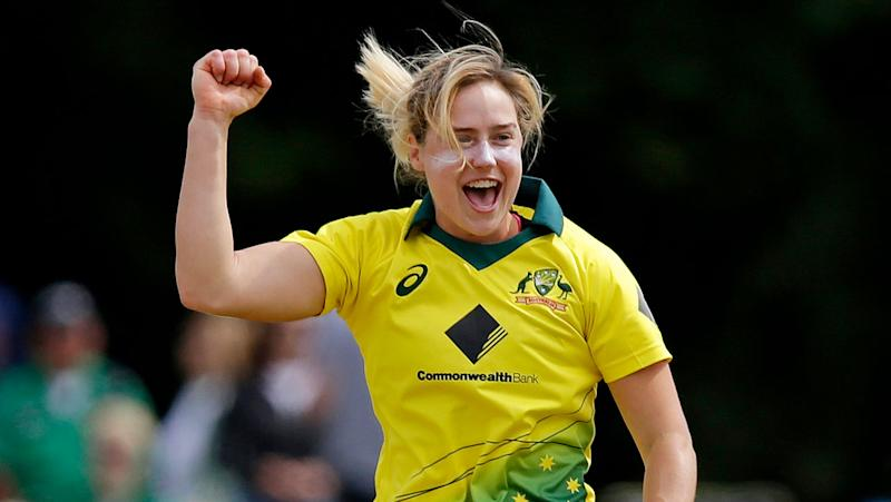 Ellyse Perry first player to reach 1000 runs, 100 wickets in T20Is