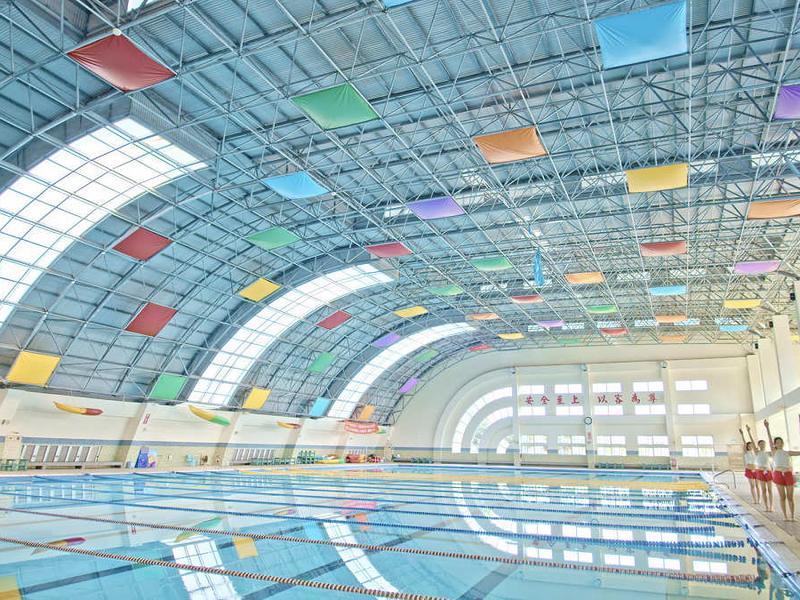 最美游泳池:國立屏東大學游泳池