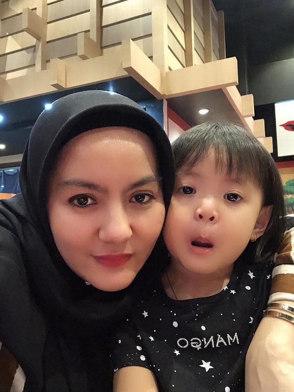 Dewi Keke, istri kedua Azis Gagap (Sumber: Instagram/dewi_keke22)