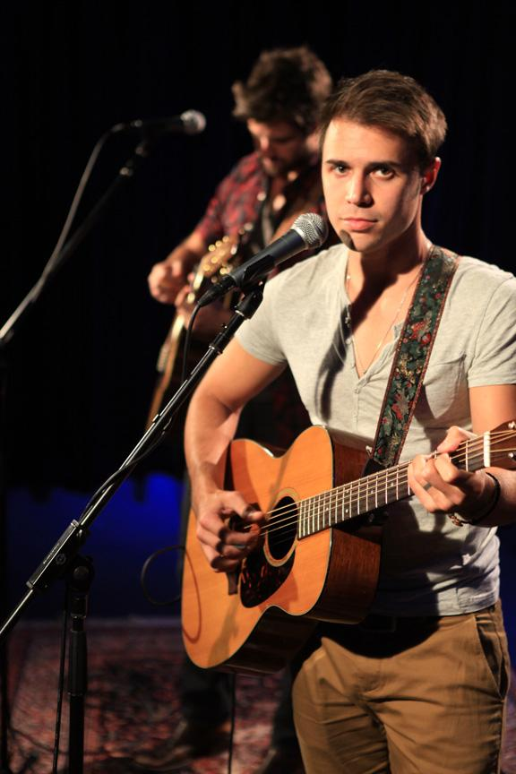 "See Kris Allen Perform His ""Monster"" Ballad Acoustic"