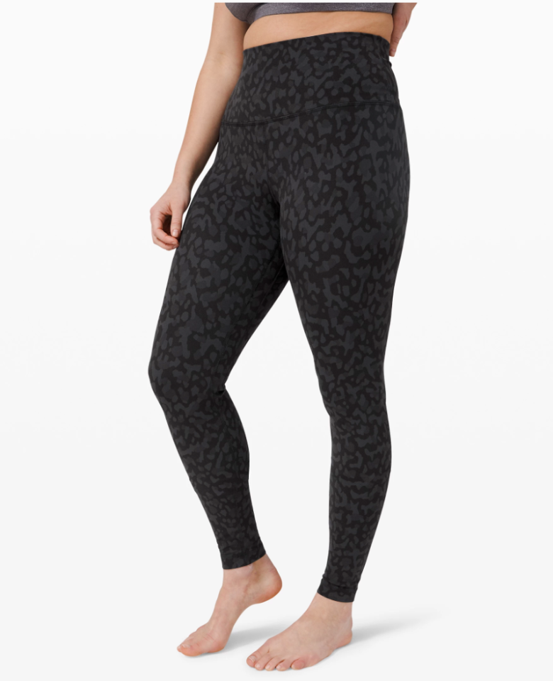 """<p><strong>Lululemon</strong></p><p>lululemon.com</p><p><a href=""""https://go.redirectingat.com?id=74968X1596630&url=https%3A%2F%2Fshop.lululemon.com%2Fp%2Fwomen-pants%2FAlign-Pant-Full-Length-28-MD%2F_%2Fprod8840324&sref=https%3A%2F%2Fwww.elle.com%2Ffashion%2Fg34013883%2Flululemon-sale-we-made-too-much%2F"""" target=""""_blank"""">Shop Now</a></p><p><strong><del>$98</del> $79 (24% off)</strong></p><p>Made with Lululemon's stretchy, buttery-soft Nulu fabric, this pair feels more like a second skin than another pair of leggings. They're the perfect thing to wear to your socially distanced yoga class or lounging around the house.</p>"""
