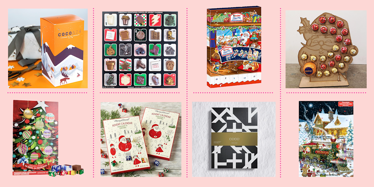 "<p>Everyone loves a <a href=""https://www.goodhousekeeping.com/holidays/christmas-ideas/g4911/christmas-advent-calendar/"" target=""_blank"">Christmas advent calendar</a>. Opening up a door every day, getting a little treat, counting down the dwindling days until Christmas — these are all 100% fun things. A lot of the time, though, the prize inside is chocolate. And the chocolate is an afterthought. It's more about the anticipation and the suspense, less about the sub-par goodies within. No wonder people turn to <a href=""https://www.goodhousekeeping.com/childrens-products/toy-reviews/g28939299/toy-advent-calendars-for-kids/"" target=""_blank"">advent calendars with toys</a> or <a href=""https://www.goodhousekeeping.com/holidays/gift-ideas/g29387546/mens-advent-calendars/"" target=""_blank"">advent calendars with meat and beer</a> inside instead!</p><p>However, there's something to be said for chocolate advent calendars with *actually delicious chocolate* inside. You don't have to resign yourself to eating grocery store confections for 24 days in a row. (Though there is something nostalgic about that.) Instead, you can find advent calendars from your favorite brands, including like Lindt or COCO. You can also indulge your sweet tooth with countdown calendars that go beyond plain chocolate bites and opt for treats like fudge or hot chocolate instead. Or you can invest in a personalized wooden calendar that lets you choose your own chocolates year after year. Any way you choose, it's guaranteed to be delicious. Whether you spend less than a dollar or splurge on fancy wares from a legendary chocolatier, remember that there's no better way to start the day than with a cup of coffee and a bite of chocolate.</p>"