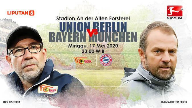 Link Live Streaming Bundesliga: Union Berlin vs Bayern Munchen Malam Ini