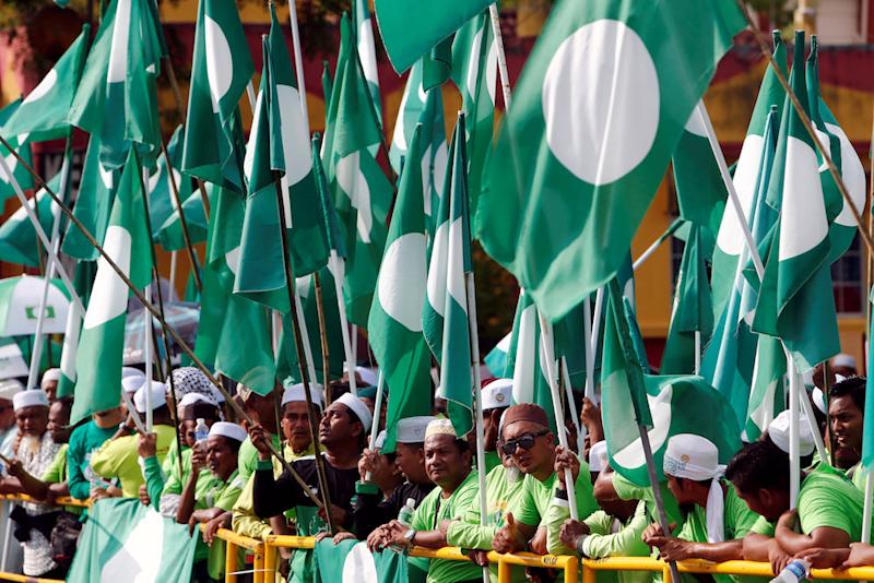 In the 14th general election, PAS was completely wiped out in the contest for parliamentary seats within Selangor. — Reuters pic