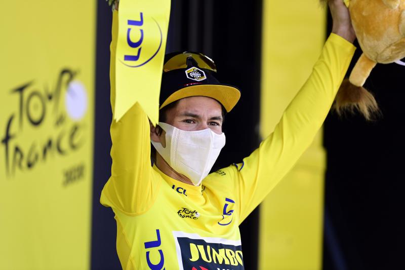 Tour de France 2020 - 107th Edition - 19th stage Bourg-en-Bresse - Champagnole 166,5 KM - 18/09/2020 - Primoz Roglic (SLO - Team Jumbo - Visma) - photo POOL/BettiniPhoto©2020