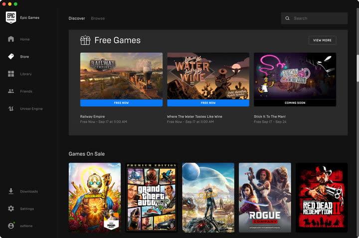 Epic Games Launcher Mac
