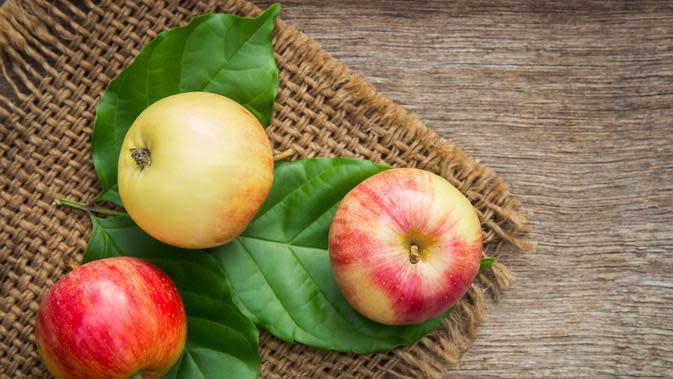 Ilustrasi buah apel. /pexels