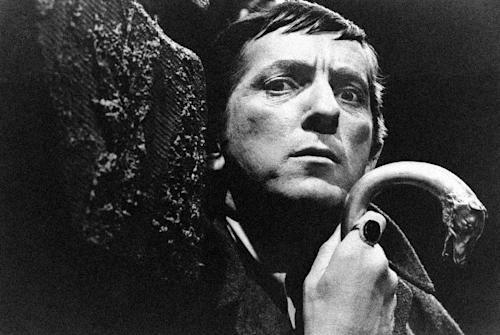 """FILE - In this 1970 file photo originally released by ABC, Jonathan Frid, from """"Dark Shadows,"""" is shown. Frid, a Canadian actor best known for playing Barnabas Collins in the 1960s original vampire soap opera """"Dark Shadows"""", has died. He was 87. Frid died Friday, April 13, 2912 of natural causes in a hospital in his home town of Hamilton, Ontario, said Jim Pierson, a friend and spokesman for Dan Curtis Productions, the creator of """"Dark Shadows."""" (AP Photo/ABC, file)"""