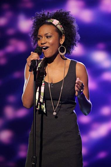Syesha Mercado performs as one of the top 20 contestants on the 7th season of American Idol.