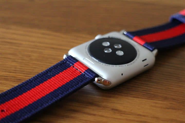 best Apple Watch bands Nyloon Watch Band underside