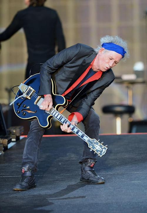 Does Keith Richards Belong on Vanity Fair's Best-Dressed List?
