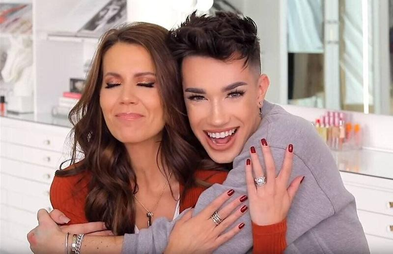 James' online feud was with his former friend and mentor, YouTuber Tati Westbrook. Photo: YouTube