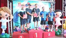 南市議會全國議長盃桌球賽 議長郭信良奪單打第三名