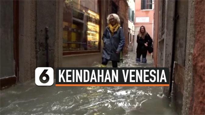 VIDEO: Keindahan Venesia Sebelum Diterjang Banjir Besar