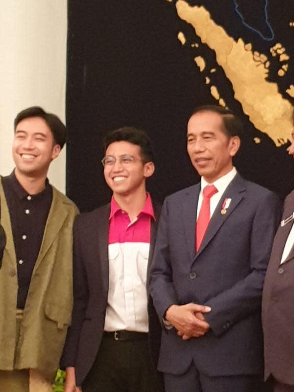 Vidi Aldiano, Vadi Akbar dan Harry Kiss di acara pelantikan Presiden dan Wakil Presiden 2019-2024 (ist)