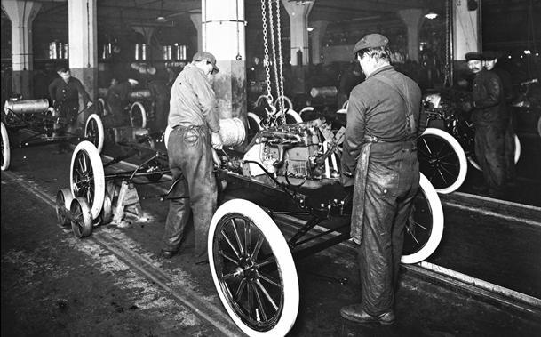 October 7: Ford changes the world with the first moving assembly line on this date in 1913