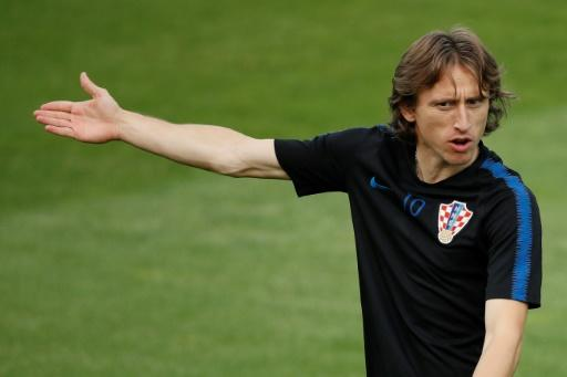 Croatia midfielder Luka Modric has won three man-of-the-match awards at the World Cup