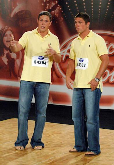"Charleston Audition: Twin brothers Corey and Chris Lane, 22, perform in front of the judges on the ""Hollywood or Bust"" episode of American Idol."