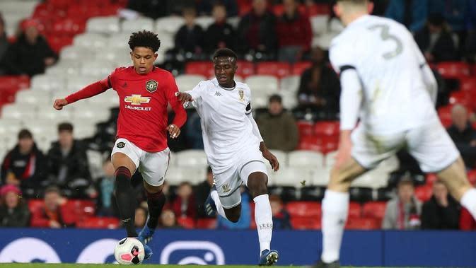 Pemain akademi Manchester United (MU) Shola Shoretire. (foto: Instagram @sholashoretire)