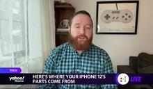 透過 AR 拆解 iPhone 12 Pro,看看它的部件從哪裡來