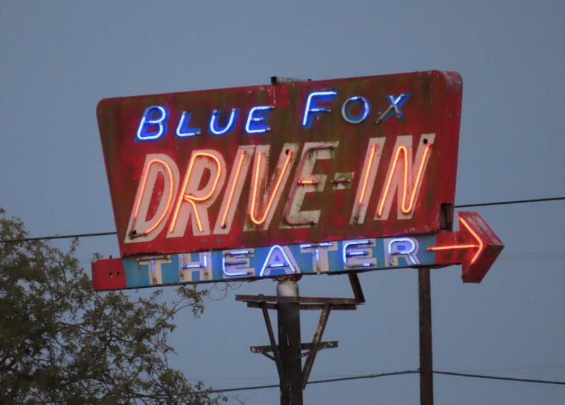 Photo credit: Blue Fox Drive-In