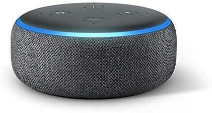 Echo Dot Smart Speaker. Image via Amazon.