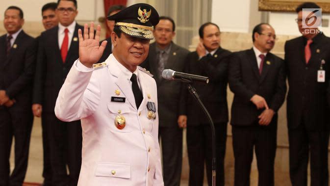 Seribu Orang Kontak Erat dengan Gubernur Kepri Isdianto Abaikan Protokol Kesehatan