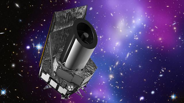 euclid space telescope dark matter energy esa carreau