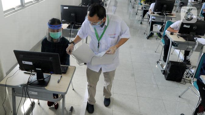 662 Ribu Peserta UTBK Ujian di Tengah Pandemi