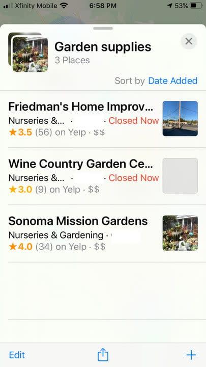 apple maps tips garden8