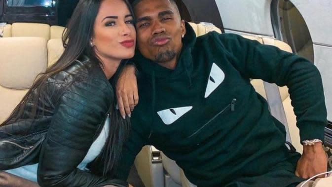 Bintang Juventus Gebet Model Seksi Bekas Neymar, Nathalia Felix (Instagram)