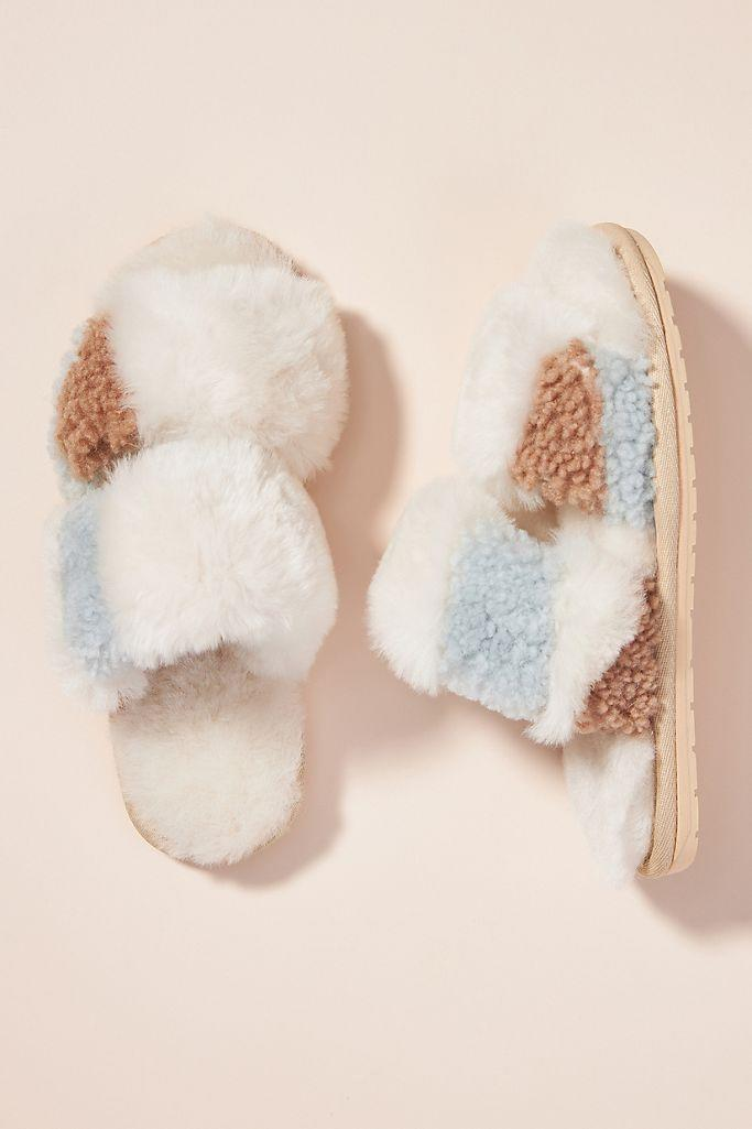 EMU Australia Coal Slippers. Image via Anthropologie.
