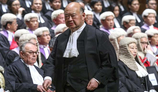 Chief Justice Geoffrey Ma says the standard of the judiciary must be maintained. Photo: Sam Tsang