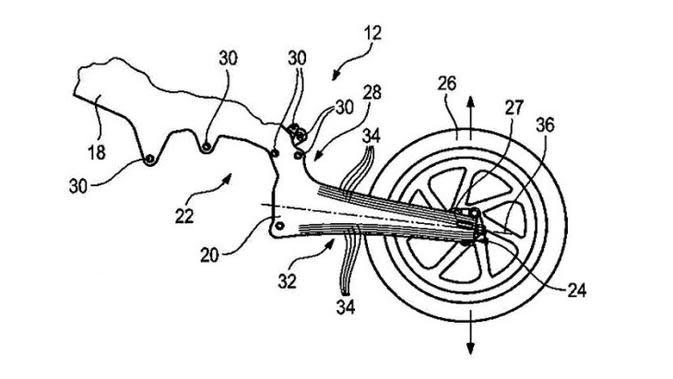 Swing Arm Menyatu dengan Sasis ala BMW Motorrad