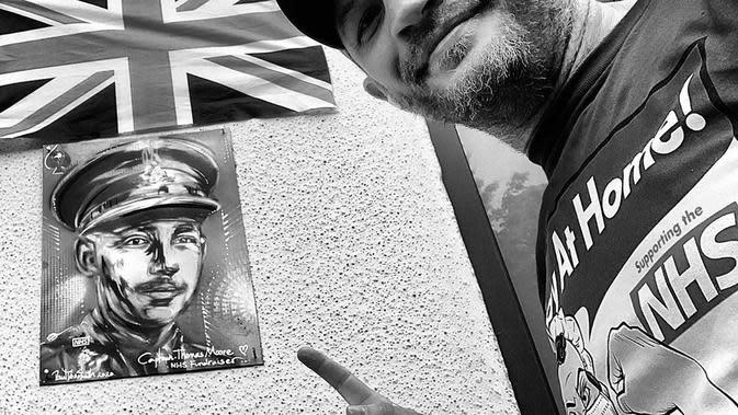 Tom Hardy. (Foto: Instagram terverifikasi @tomhardy)
