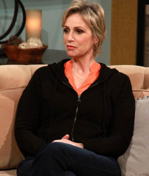 Jane Lynch visits Access Hollywood Live on April 15, 2013 -- Access Hollywood