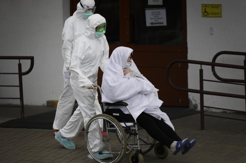 Virus Outbreak Belarus Election