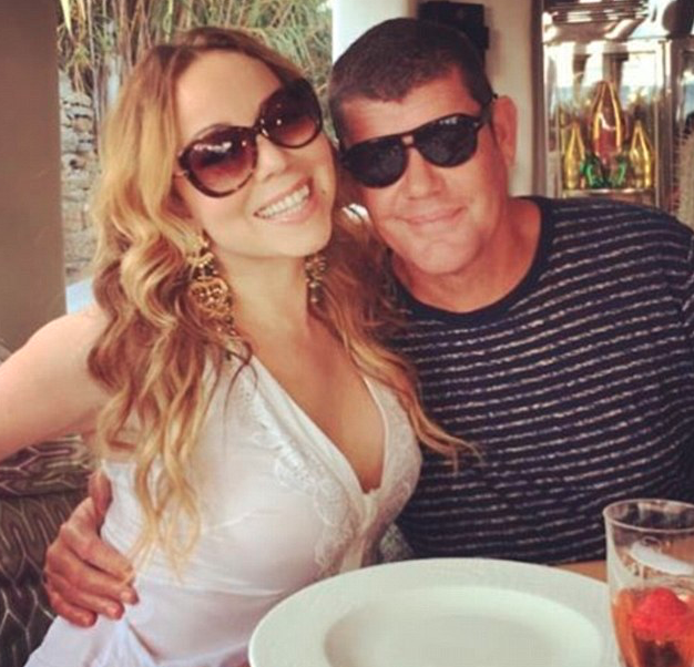 Mariah and James in vacation in Italy in 2016. Source: Instagram