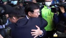 林佳龍歡送 藍委諷他忘了辭職原因