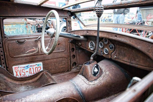 How to do a rat rod interior right: Flickr photo of the day