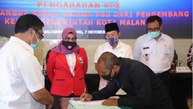 KPK Ingatkan Pemkot Malang dan Pengembang untuk Tertib Pendataan Aset