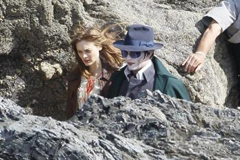 "What in the Heck Is Going on With Johnny Depp in ""Dark Shadows?"""