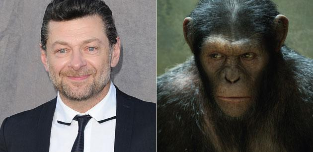 "Andy Serkis Talks 'The Hobbit,' 'Rise of the Planet of the Apes,' Animal Rights, and Steven Spielberg and Explains Why ""Performance Capture"" is Really, Really Acting"