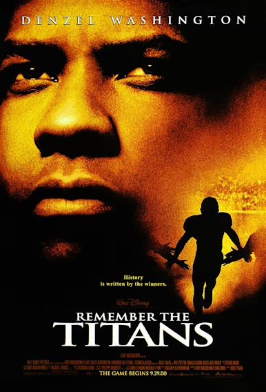Denzel Washington Movie Titles - Remember the Titans