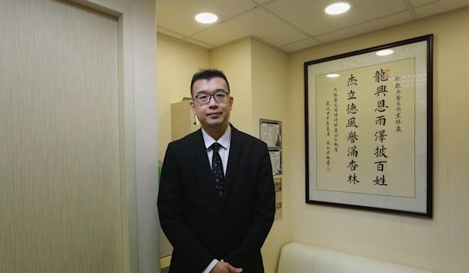 Psychiatrist Dr Hui Lung-kit. Photo: Jonathan Wong