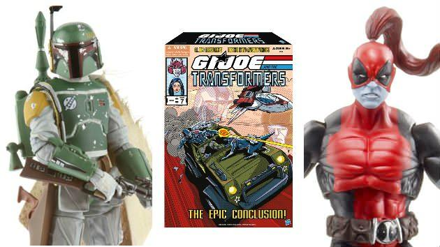 Hasbro Comic-Con Exclusives Giveaways: 'Star Wars,' Marvel, G.I. Joe & Transformers!
